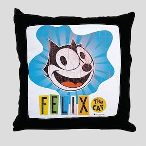 60s 6 Throw Pillow