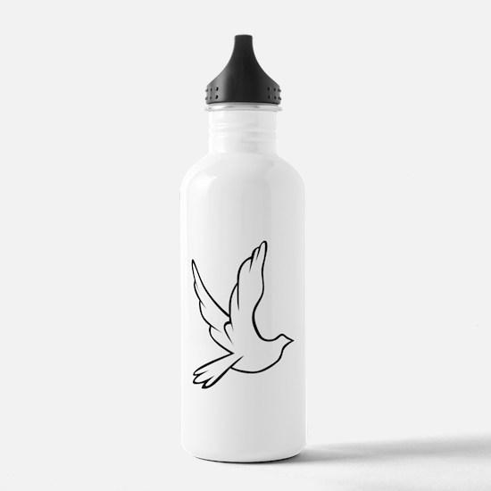 dove_symbol_1600 Water Bottle