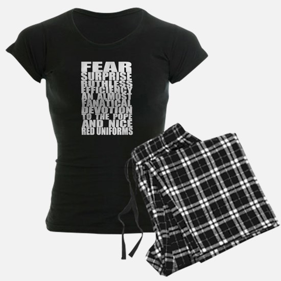 Fear, Surprise Pajamas