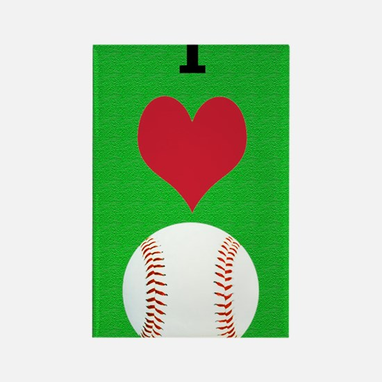 I Love Baseball Itouch2 Itouch4 I Rectangle Magnet