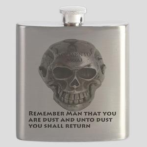 Silver_Skull_Memento_Mori_10by10_Trans_DUST Flask