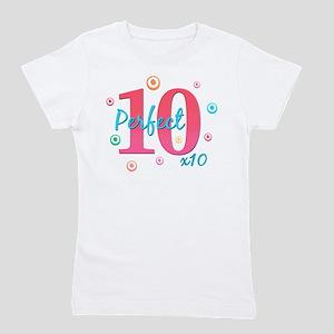 Perfect 10 X10 Girl's Tee T-Shirt