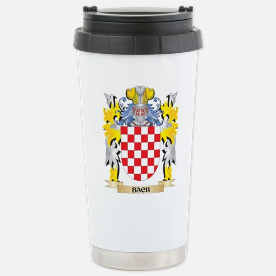 Bach Coat of Arms - Fam Stainless Steel Travel Mug