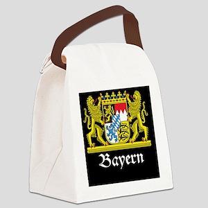 bavaria_black Canvas Lunch Bag