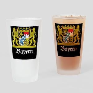 bavaria_black Drinking Glass