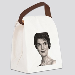 jackie close up t-shirt Canvas Lunch Bag
