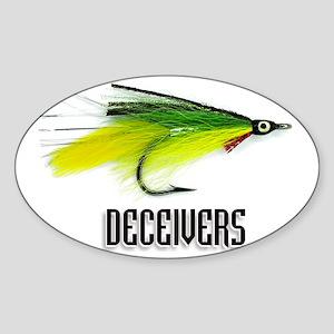 deceiversfrt Sticker (Oval)