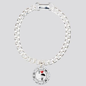 Iheart-parasail Charm Bracelet, One Charm