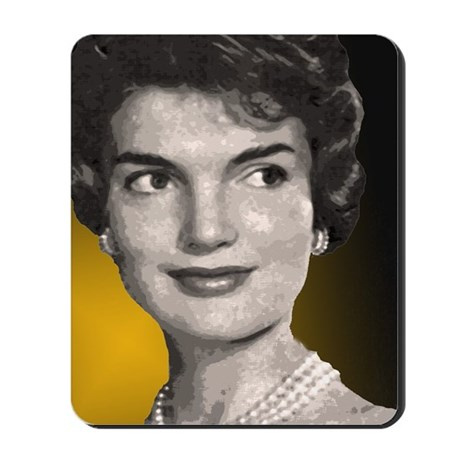 kennedy office supplies. Jackie O Clock Close Up Mousepad Kennedy Office Supplies