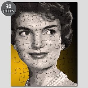 Jackie O clock close up Puzzle