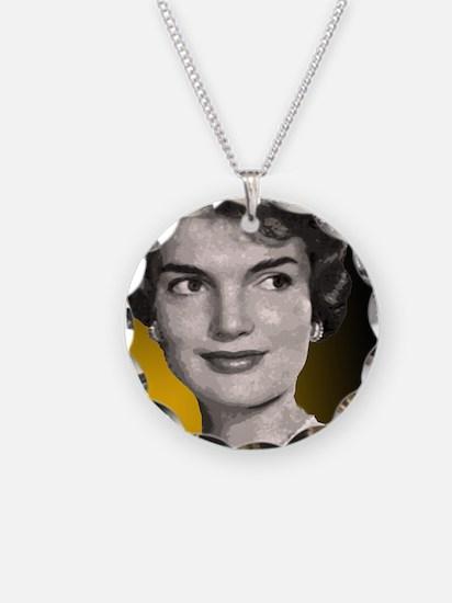 Jackie O clock close up Necklace