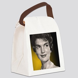 Jackie O clock close up Canvas Lunch Bag