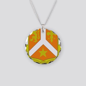 DUI - 529th Signal Coy Necklace Circle Charm