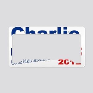 charlie a License Plate Holder