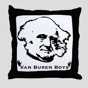 VanBurenBoysLIGHT Throw Pillow