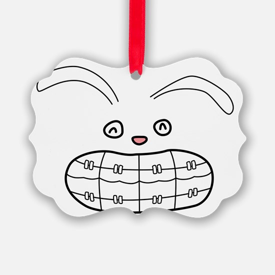 Bunny-Brace-color Ornament