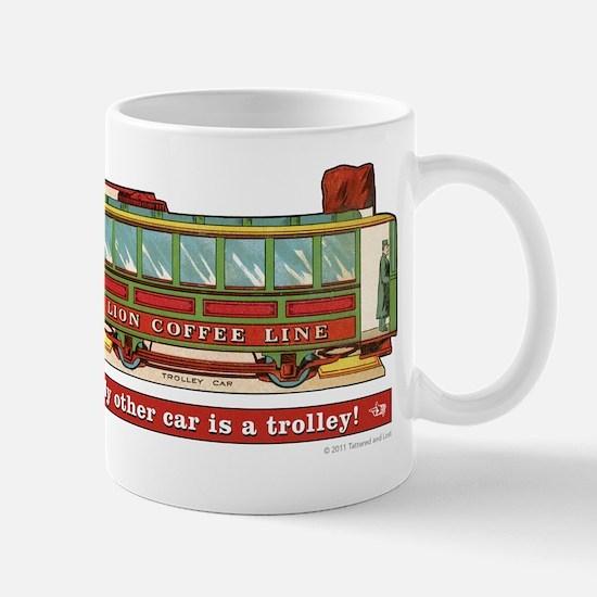 Trolley Car Mug