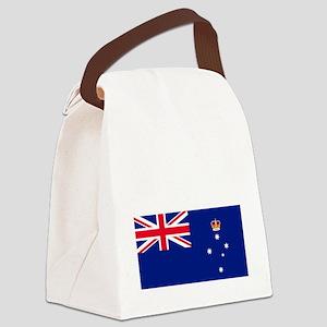 Victoria-Dark Canvas Lunch Bag