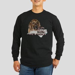 AMERICAN PLOTT HOUND Long Sleeve Dark T-Shirt