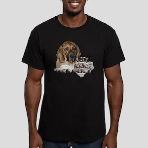 AMERICAN PLOTT HOUND Men's Fitted T-Shirt (dark)