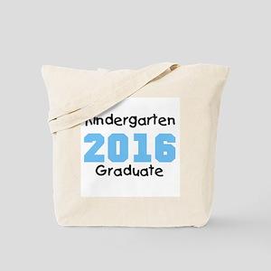 2016 Kindergarten Grad Blue Tote Bag