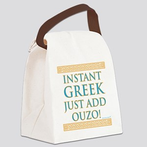 Instant Greek Canvas Lunch Bag