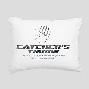 Catchers Thumb Rectangular Canvas Pillow