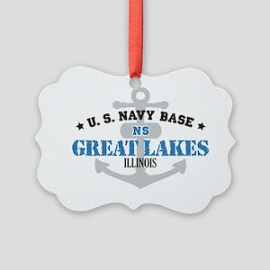IL Great Lakes 1 Picture Ornament