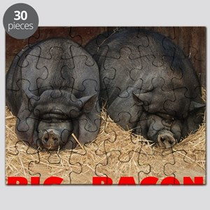 Pot_Bellied_Pigs_Big_Bacon_10by10 Puzzle