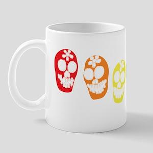 Calaveras clr wht logo Mug
