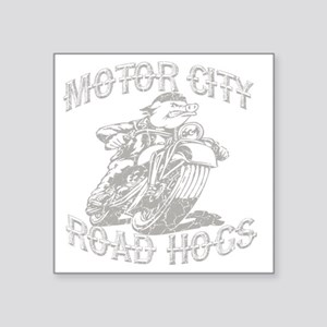 "road hogs Square Sticker 3"" x 3"""