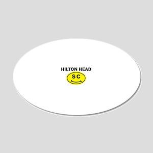 schiltonhead copy 20x12 Oval Wall Decal