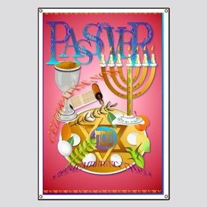 LargePoster Pass Over Seder Banner