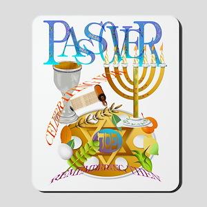 Passover Seder Trans Mousepad