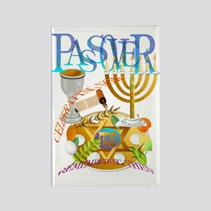 Passover Seder Trans Rectangle Magnet