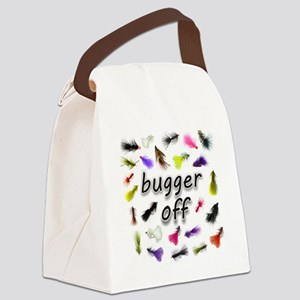 buggeroff Canvas Lunch Bag