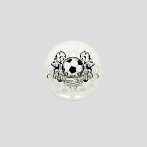 Soccer Aunt Mini Button