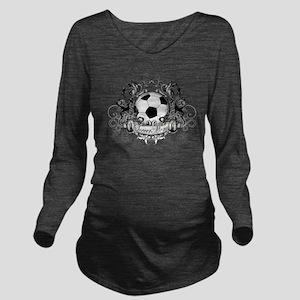 Soccer Mom Long Sleeve Maternity T-Shirt