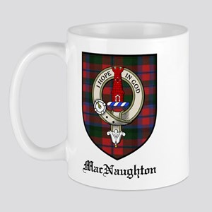 MacNaughton Clan Crest Tartan Mug