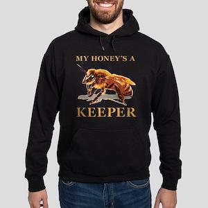 My Honey Is A Keeper Hoodie (dark)