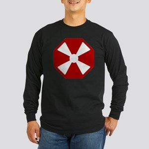 8th Army - South Korea -  Long Sleeve Dark T-Shirt