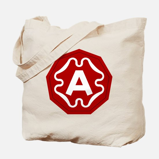 9th Army Tote Bag