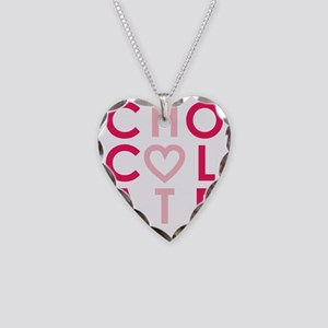 HOT CHOCOLATE (girl) Necklace Heart Charm