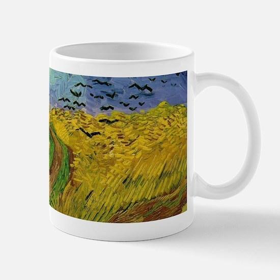 Van Gogh Wheatfield Wraparound Mug