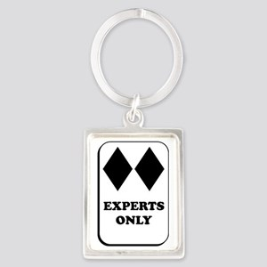 Experts Only Portrait Keychain