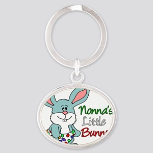 Nonnas Little Bunny Oval Keychain