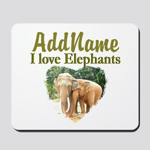 ELEPHANT LOVE Mousepad