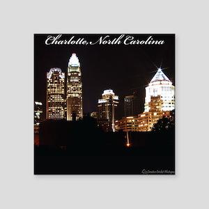 """Charlotte Design Square Sticker 3"""" x 3"""""""