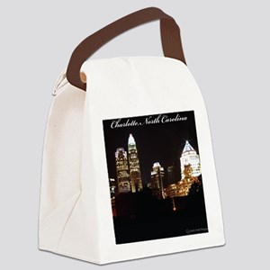 Charlotte Design Canvas Lunch Bag
