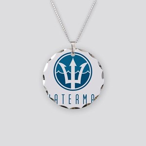 watermanlogo1 Necklace Circle Charm